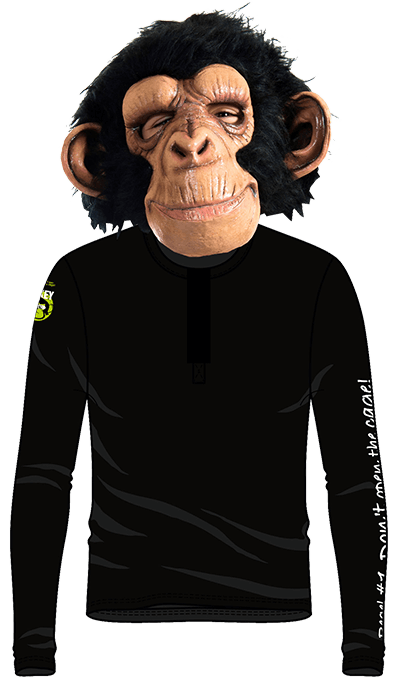 The Crazy Monkey Condoms - long sleeve shirt