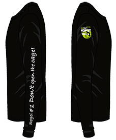 The Crazy Monkey Condoms - long sleeve shirt - Seitenansicht